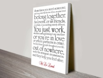 Quotes Canvas Wall Art