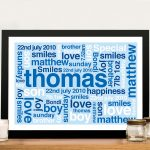 Buy-Personalised-Framed-Wall-Art-for-a-Baby-Boy