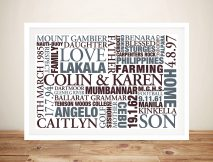 Buy Earth Tones Personalised Gifts Australia