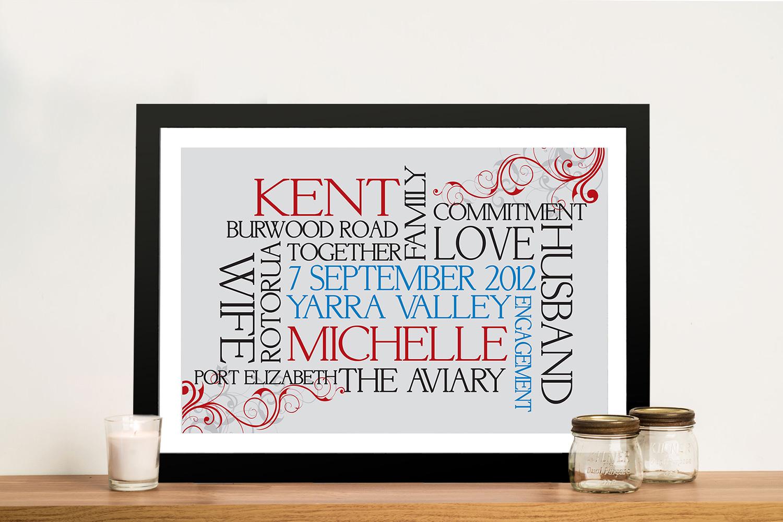 Buy Flourish Affordable Valentines Gifts Online | Flourish Typographics