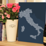 Italy-Type-Map-canvas-print