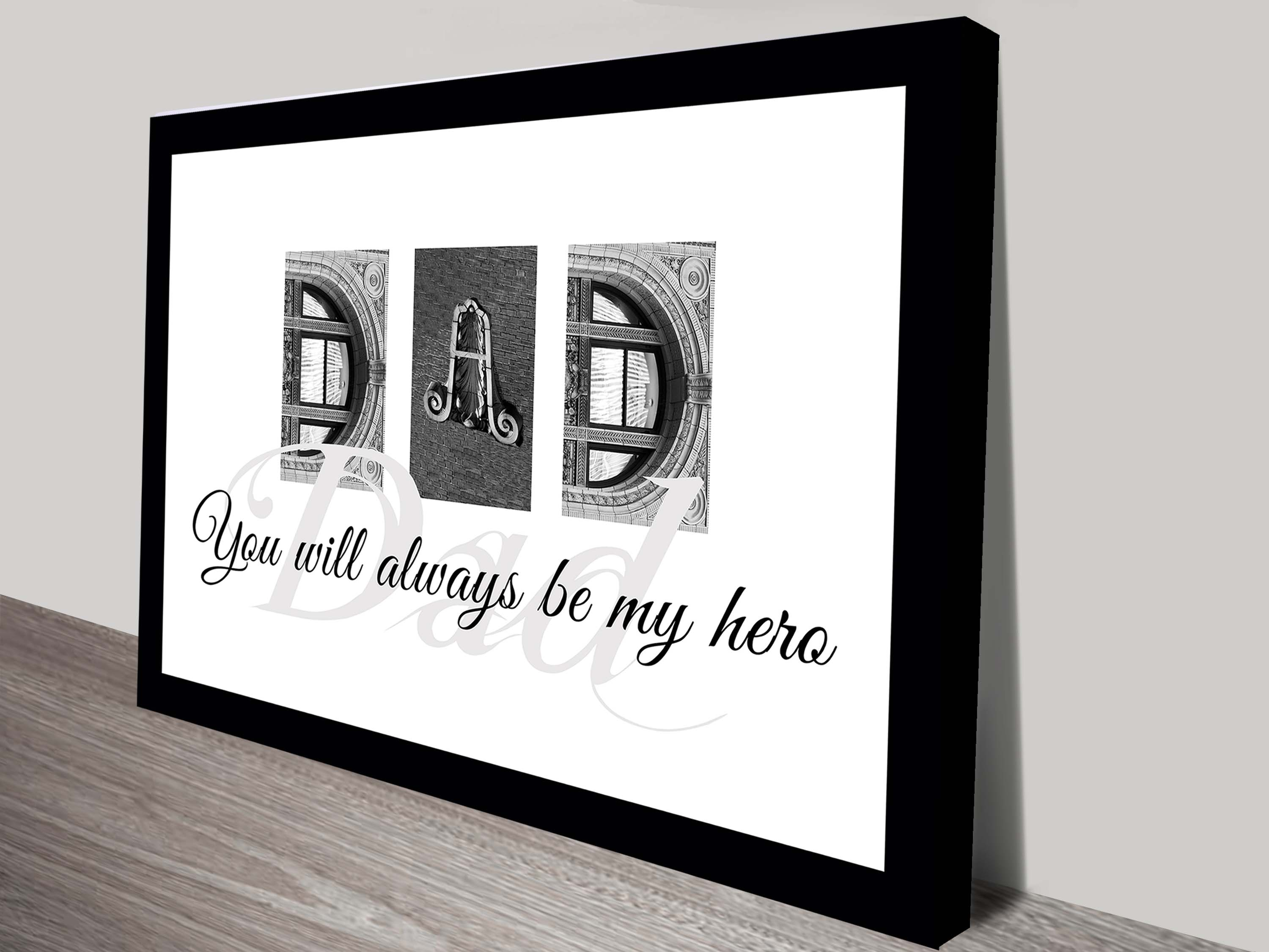 Letter Art Fathers Day Gift Ideas | Letter Art