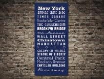New York Tram Scroll