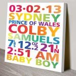 Personalised-New-Born-Baby-Art