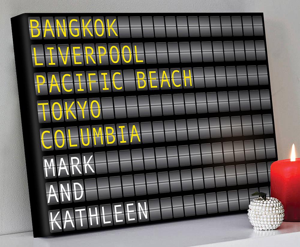 Arport-Flight-Destination-Board-Art   Airport Flight Sign – 1 Landscape