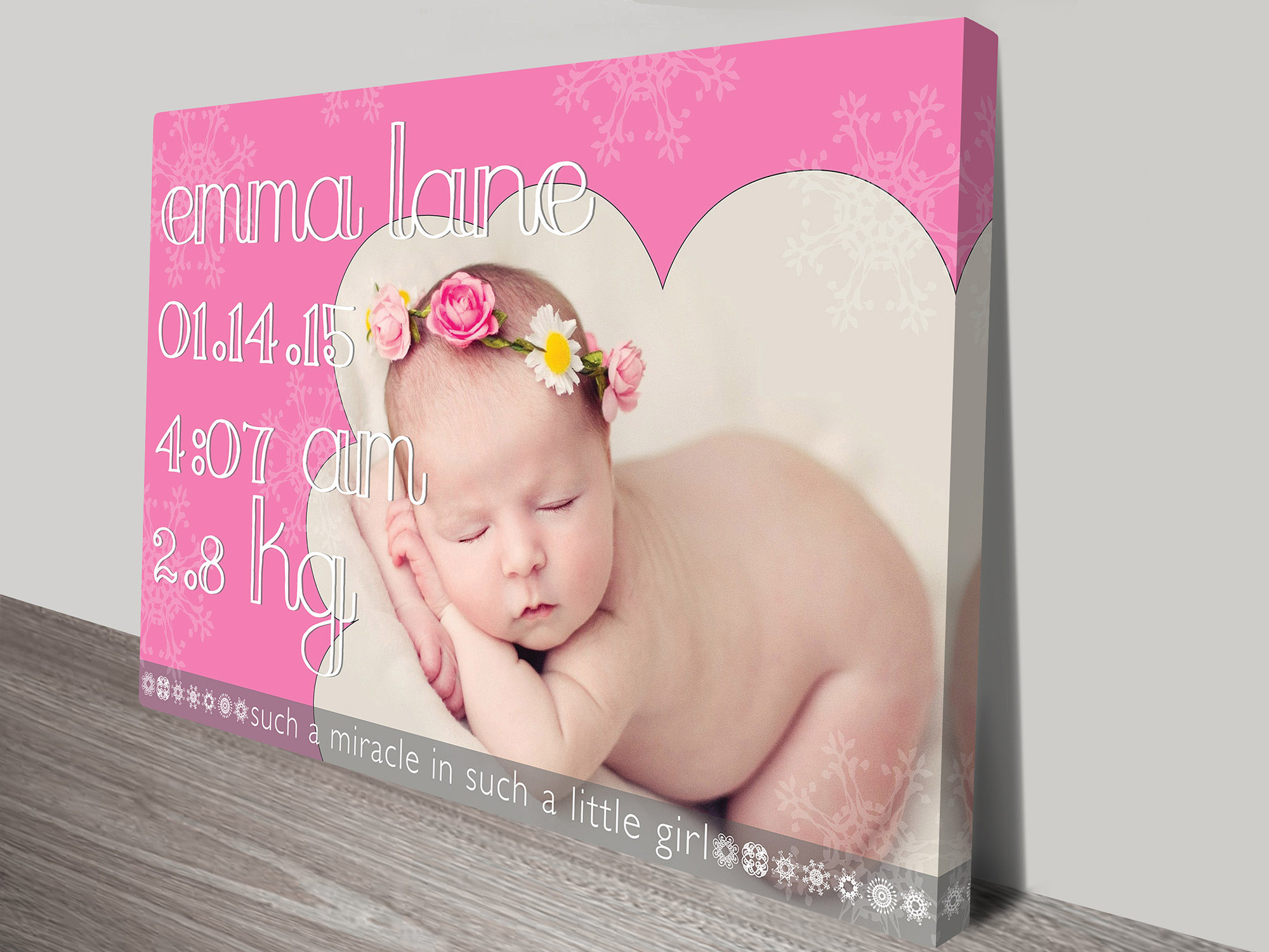 A Miracle baby gift idea   A Miracle