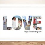 love-photo-word-art-framed