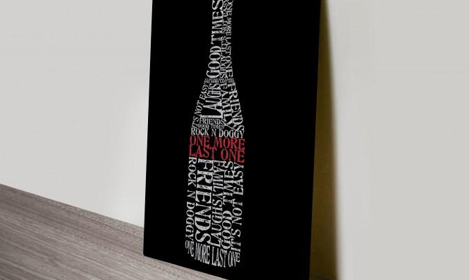 personalised birthday gift art