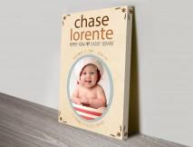 baby custom gift idea