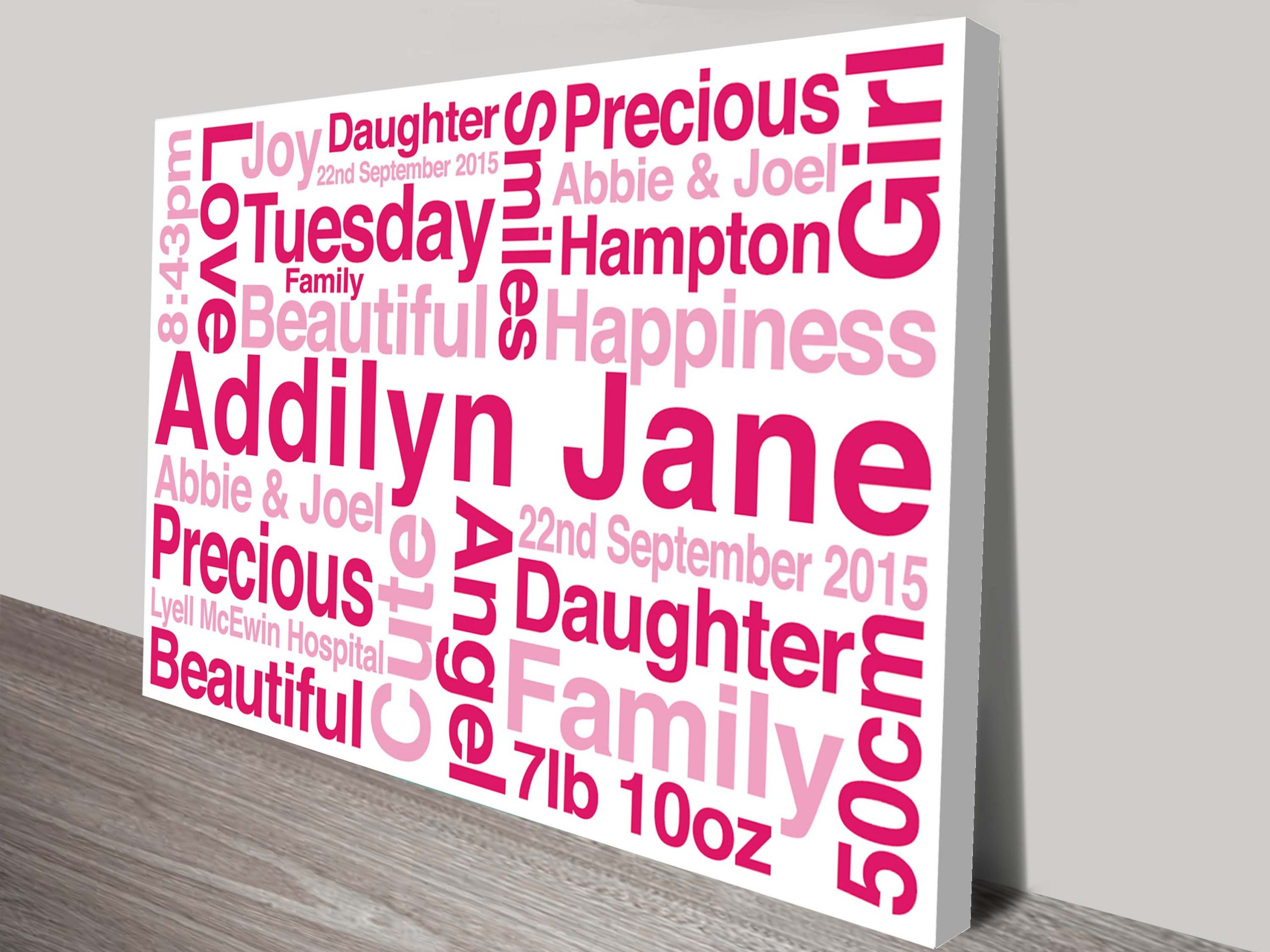 Personalised Baby Gifts