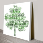 Bespoke-Family Tree-Canvas-Word Art-Australia