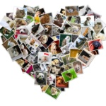 Heart-Shaped-Photo-Canvas-Collage