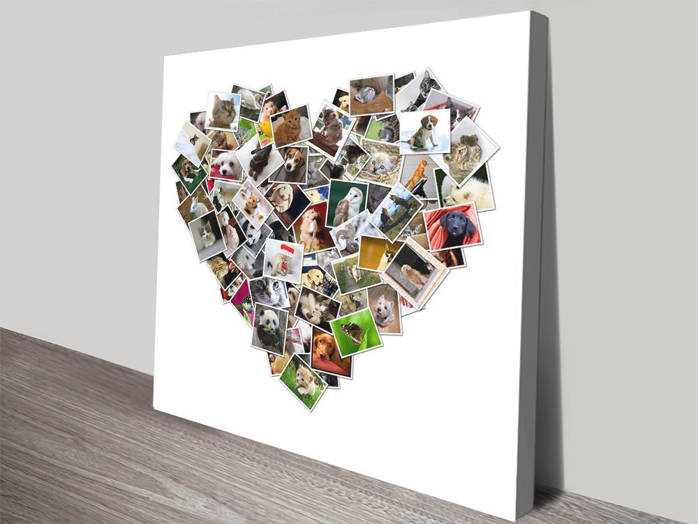 Heart Shaped Photo Collage | Heart Shaped Photo Collage