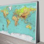 Custom-Explorer-Push-Pin-World-Map-Canvas-Picture