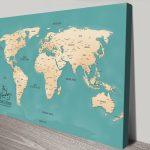 Aventuras-Push-Pin-World-Map-Canvas-Print