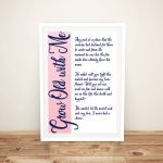 Grow-Old-with-Me-Framed-Wall-Art