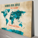 Personalised-Travel-Maps-Wall-Art-Canvas-Print