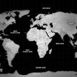 Silver-World-Traveller-Map-Pinboard-Art-Gift