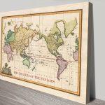 Old-World-Push-Pin-Travel-Map-Artwork