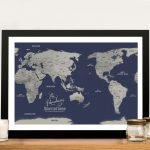 Personalised-Navy-Blue-Central-Pacific-Map-Framed-Wall-Art