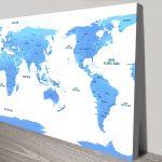 Australia-Centric-Sky-Blue-World-Map-canvas-print