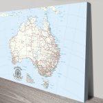 Custom-Australia-Detailed-canvas-Print-Art