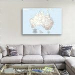 Australia-Customised-Map-Gifts-with-Pins