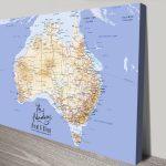 Australia-Personalised-pin-corkboard-art