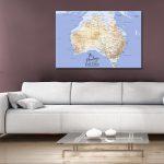 Australia-topographical-pushpin-canvas-wall-art