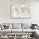 Pathfinder-World-Map-with-Pins-gift-Art