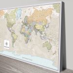 Pathfinder-Push-Pin-Travel-World-Map-Canvas-Wall-Art