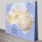 Personalised-Australia-Square-Push-Pin-Map-Artwork
