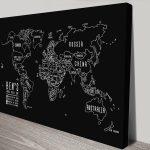 Chalkboard-World-Map-Custom-canvas-print