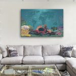 Personalised-Diving-Spots-Map-Canvas-Artwork