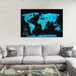 Electric-Blue-Pushpin-Map-Artwork