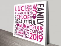 Beautiful Personalised Gift ideas