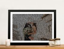 Customised Wedding Photo Word Art