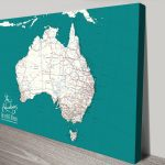 Personalised-Australia-Dark-Teal-Pinboard-Map-Art