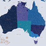 Personalised-Australia-Map