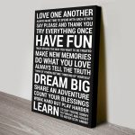 Personalised-House-Rules-Black-White-Canvas