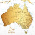 Australia-Detailed-Map-Gold