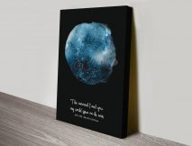 Design Your Own Personalised Star MapWall Art