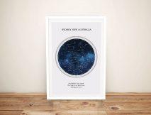 Bespoke Star Maps of the Night Sky