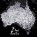 Buy-Black-&-Silver-Map-Art-Cheap-Online
