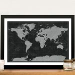 Buy-Black-and-White-Pushpin-Maps-Cheap-Online
