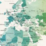 m1088-Watercolour-Political-Map-of-the-World-Zoomed-01