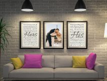 Buy Wedding Vow 3-Piece Custom Word Art