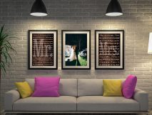 Buy Wedding Vow Triptych Word Art