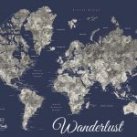 Navy-Blue-Watercolour-World-Map