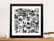 Personalised Black and White Photo Collage
